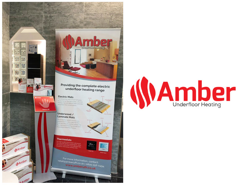 Amber Underfloor Heating releases new point of sale