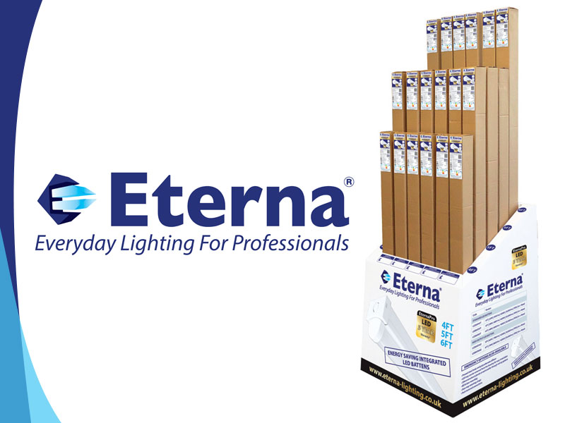 Eterna Lighting launches POS unit for its LED battens