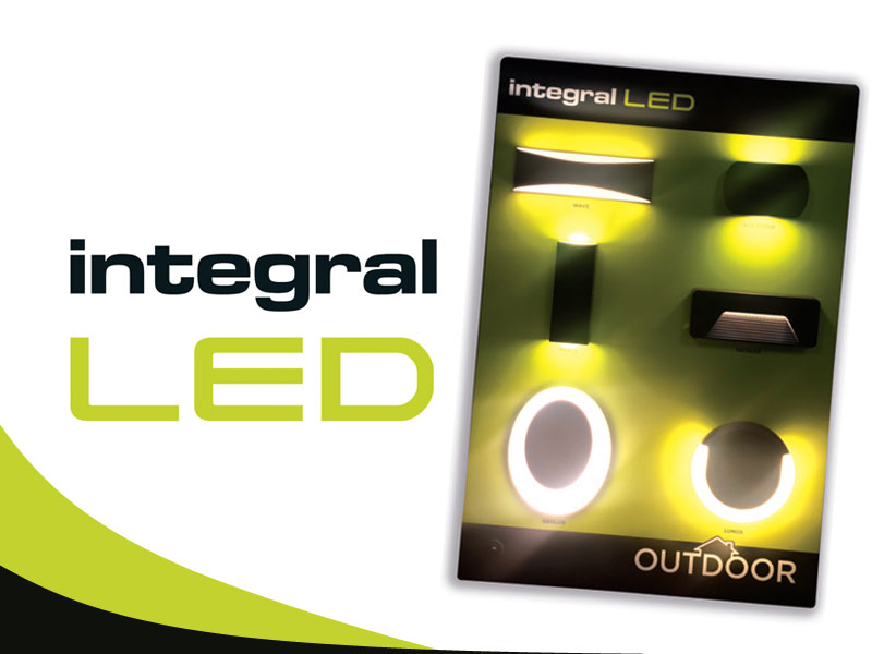 Integral LED – downlight & outdoor display