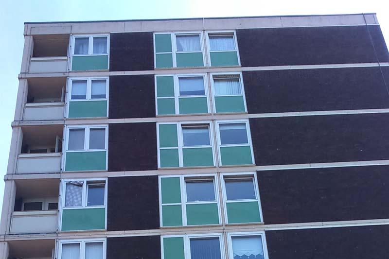Unitrunk supplies social housing upgrade