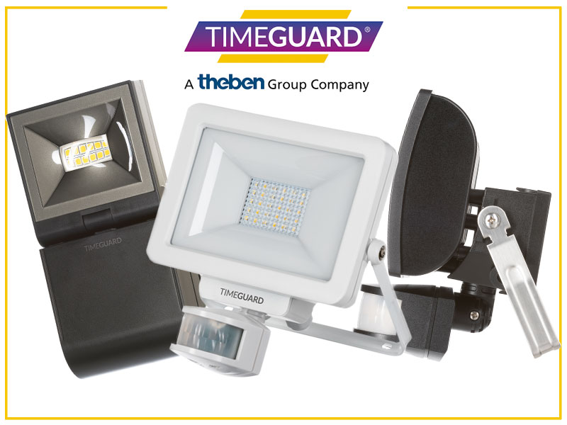 Win three outdoor lighting options from Timeguard!