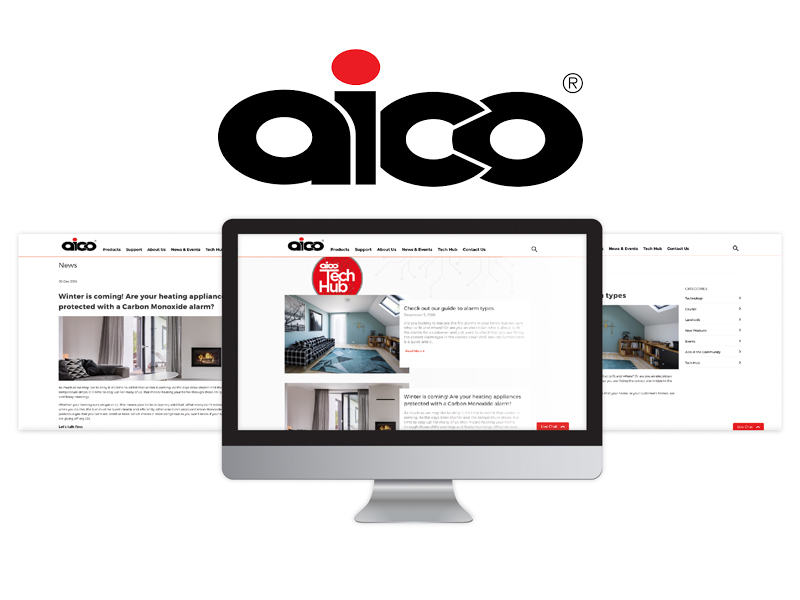 Aico's Tech Hub 'Website'