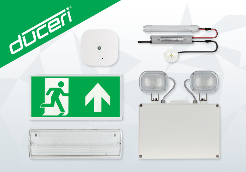 ESP: Self test emergency lighting range