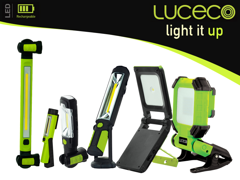 Luceco: Inspection torches and work lights