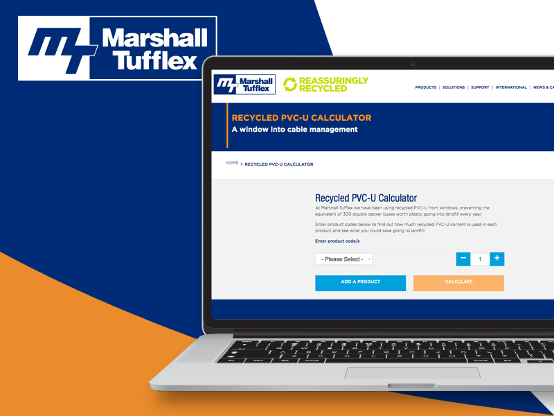 Marshall-Tufflex launches interactive recycling calculator
