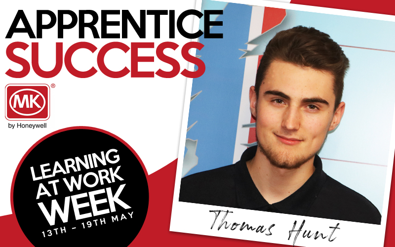 Apprentice success with MK Electric