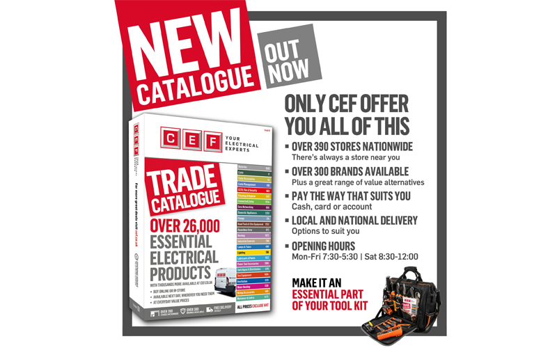 CEF launches priced trade catalogue and website