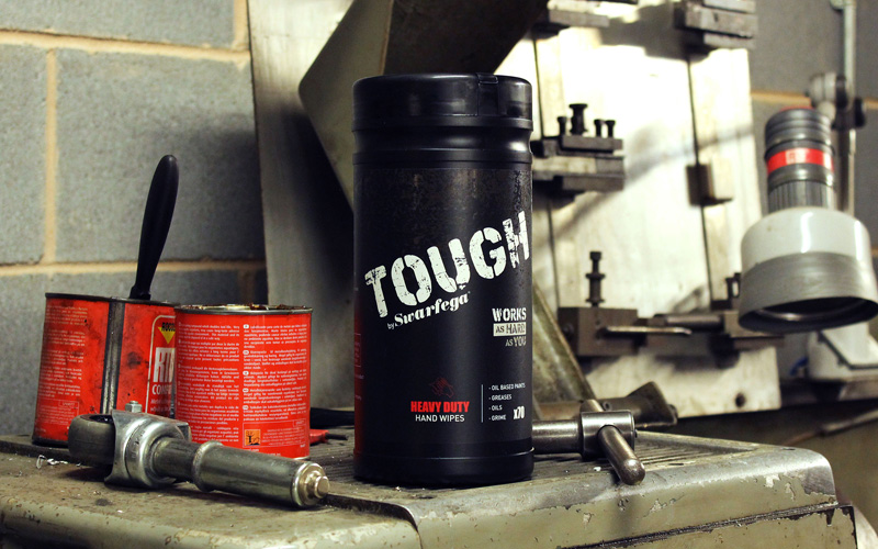 Giveaway: 1 x Tough By Swarfega wipes tube