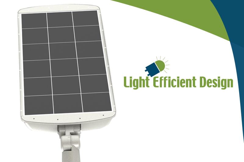 Light Efficient Design offer a solar powered solution