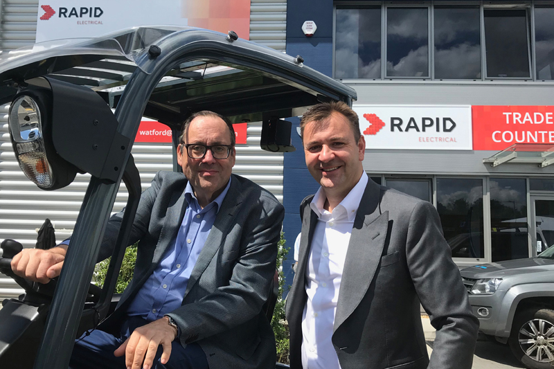 Rapid Electrical launches new distribution centre