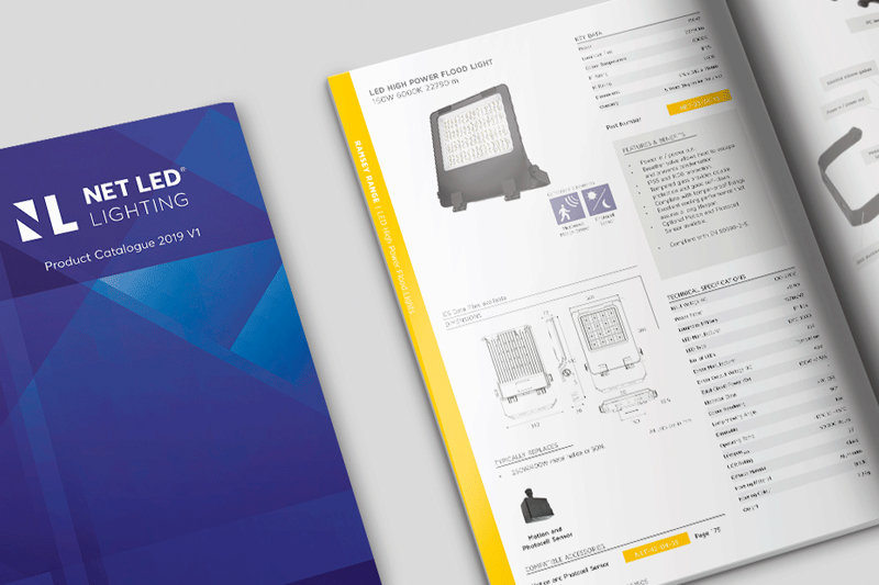 NET LED Lighting's 2019 Catalogue is now available online