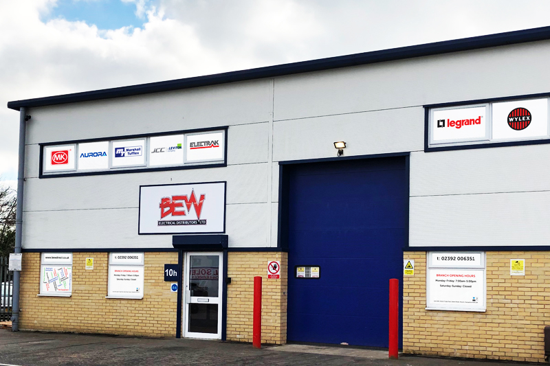 New Havant branch for BEW Electrical Distributors