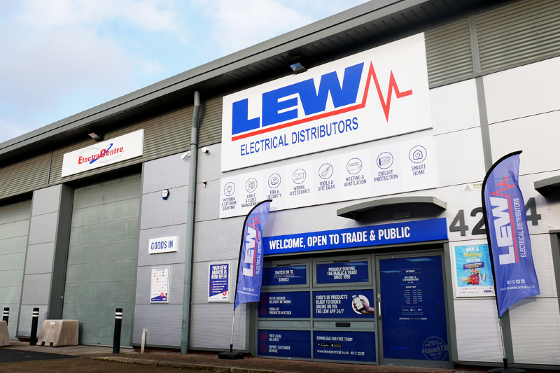 LEW Electrical Distributors use new business software