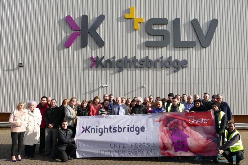 Knightsbridge raises money for Shelter