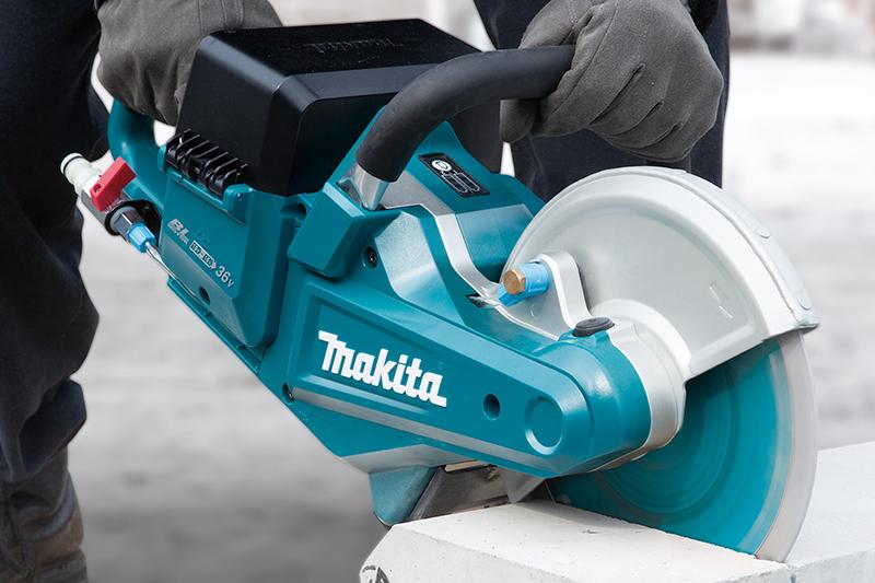 Makita Twin 18V Brushless Disc Cutter