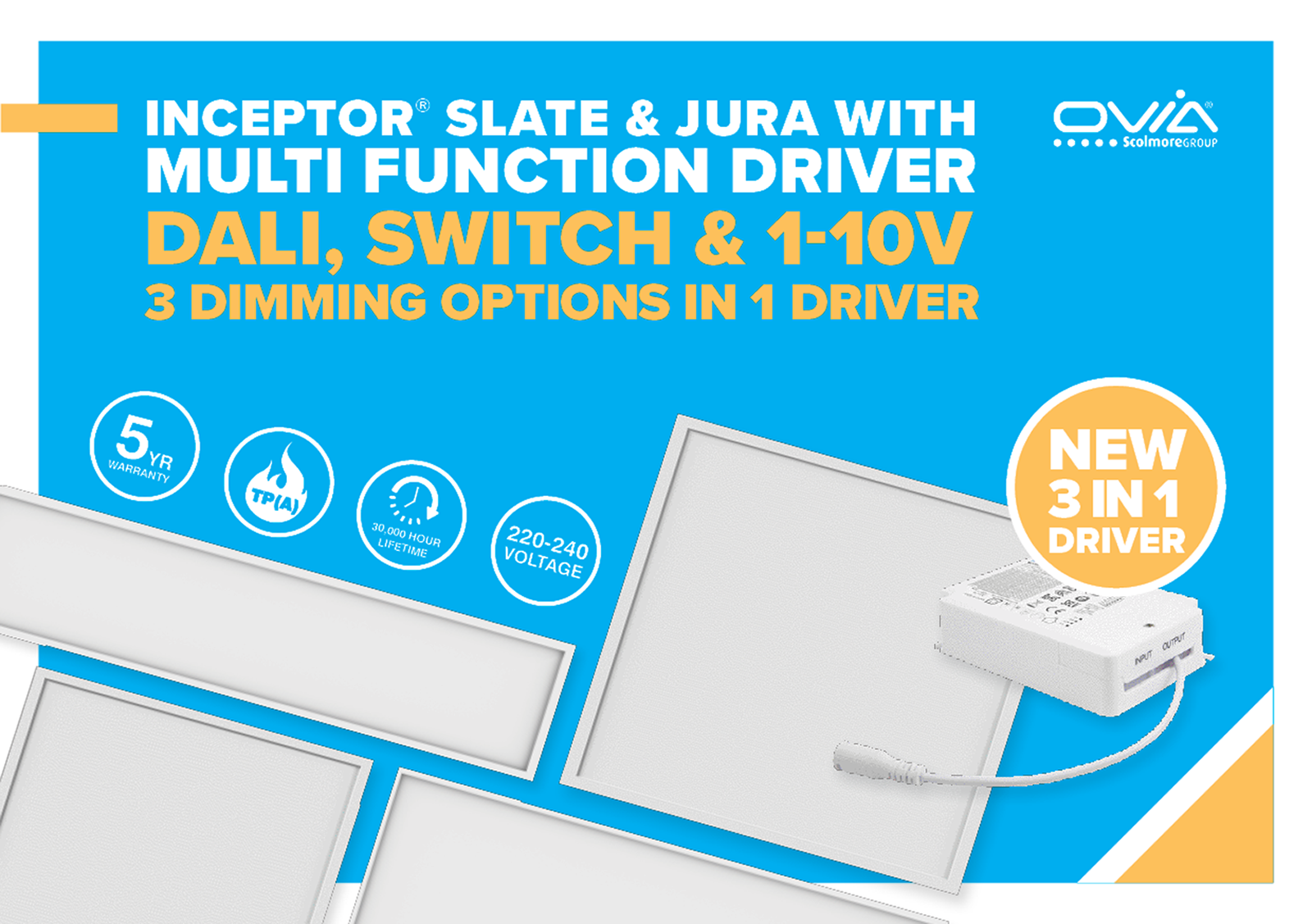 Ovia introduces new Multi-Function Driver