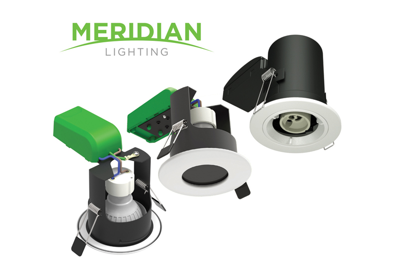 New Meridian Fire Rated Downlights