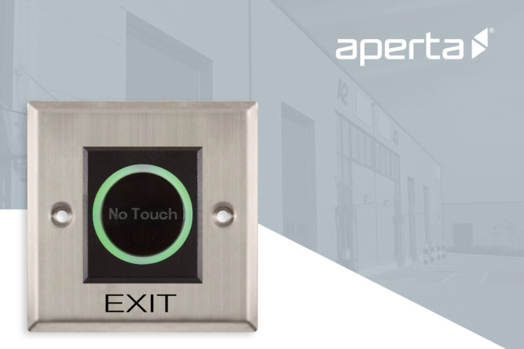 Aperta contactless door acccess Jan 2021