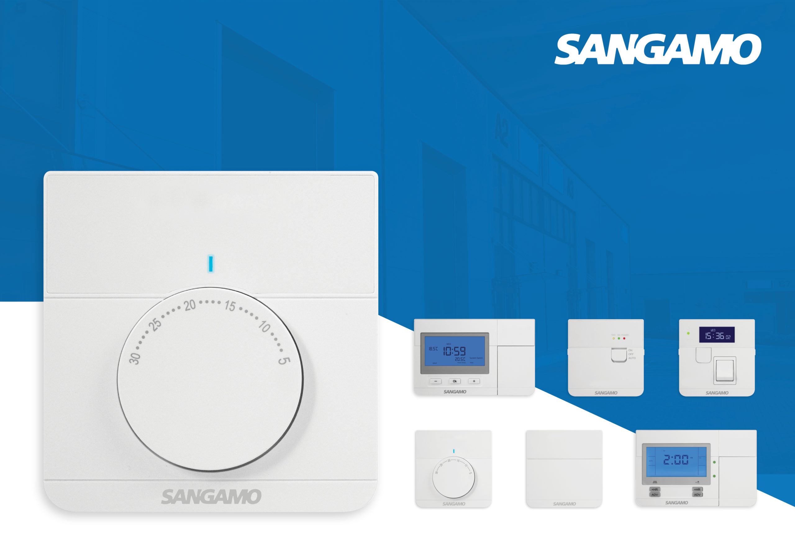 Sangamo timers and heating controls range revamped
