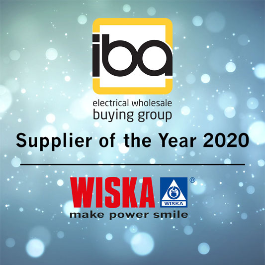 Wiska is crowned Supplier of the Year 2020
