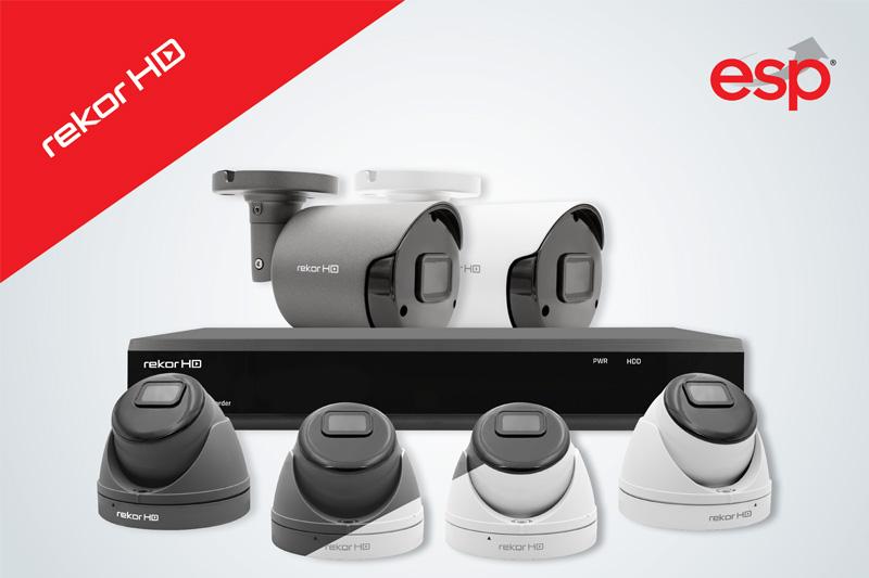 ESP's Rekor CCTV range gets a revamp