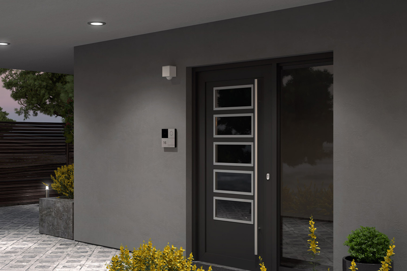 Adding safety and security with outdoor lighting