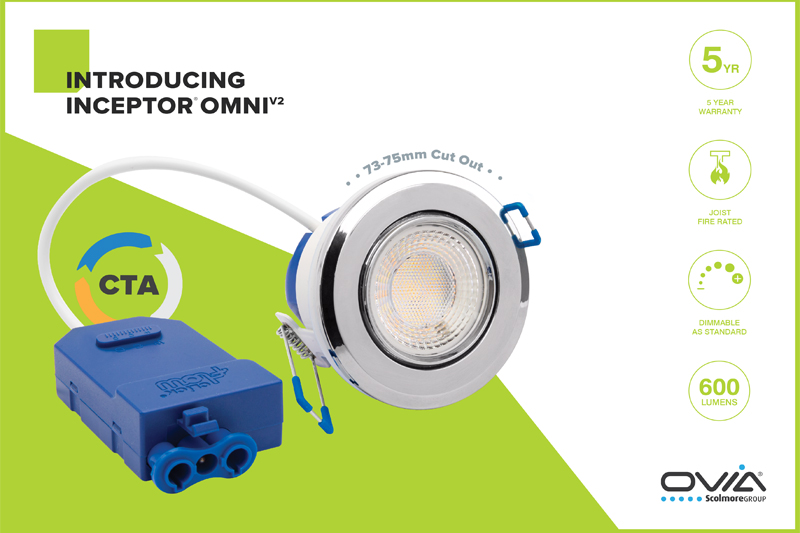 New Inceptor Omni downlight | Ovia