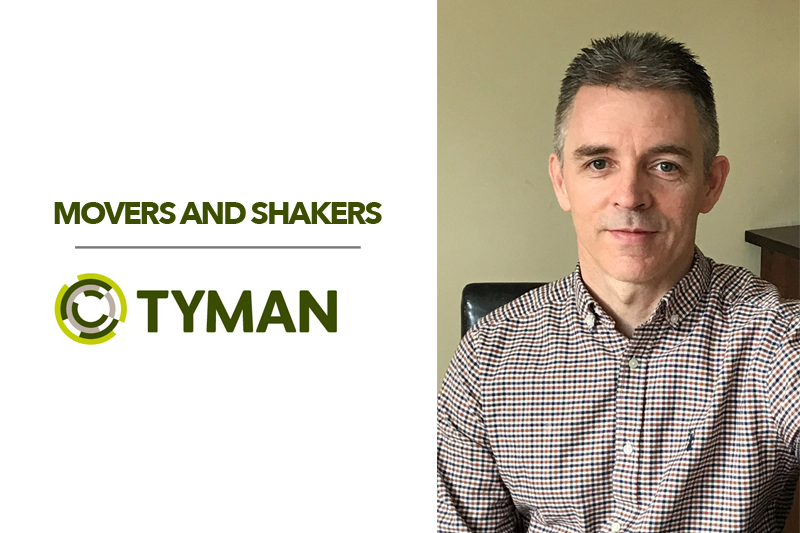 Tyman announce their new Commercial Director